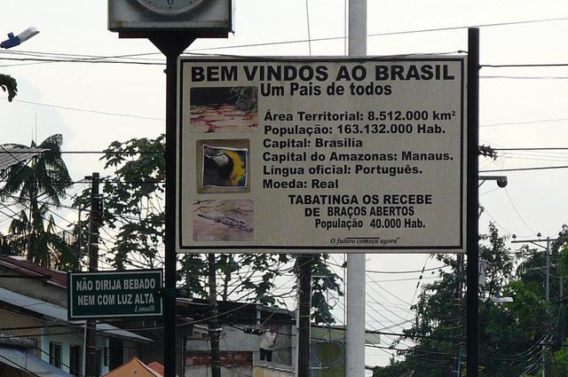Grenze zwischen Kolumbien und Brasilien