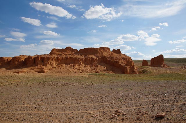 Bayzang/ Flaming Cliff in der Gobi, Mongolei