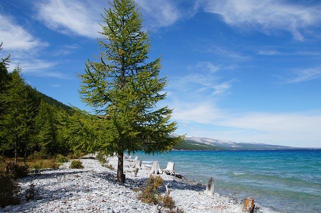 Khuvsgul See im Norden der Mongolei