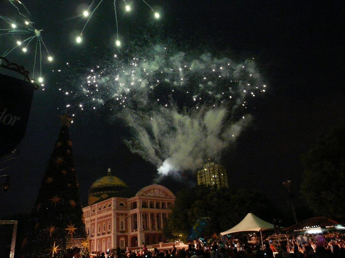 Manaus Feuerwerk