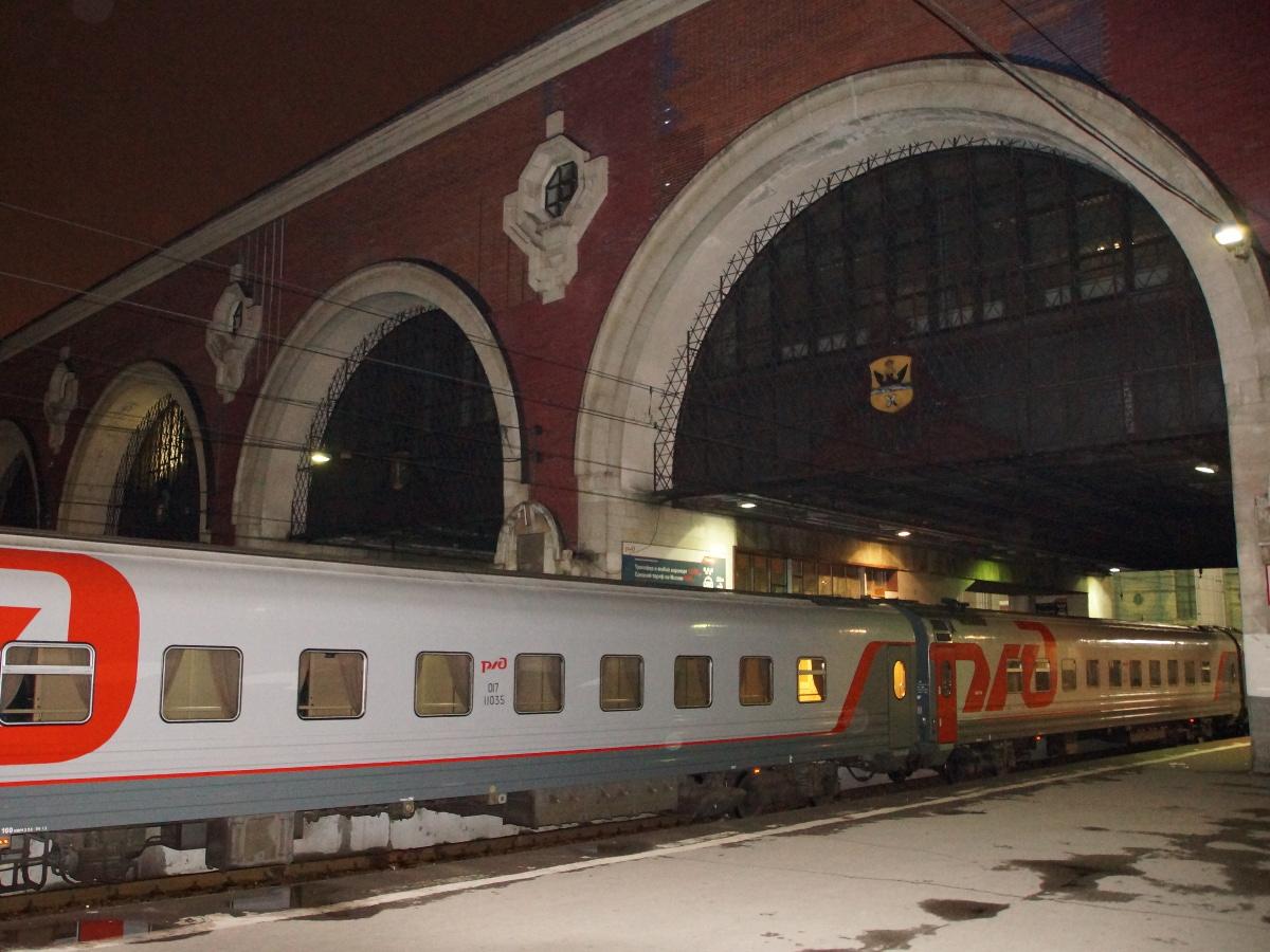 Zug 2 Transsib