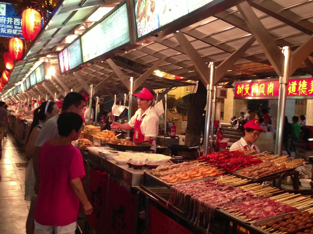 Pekinger Nachtmarkt