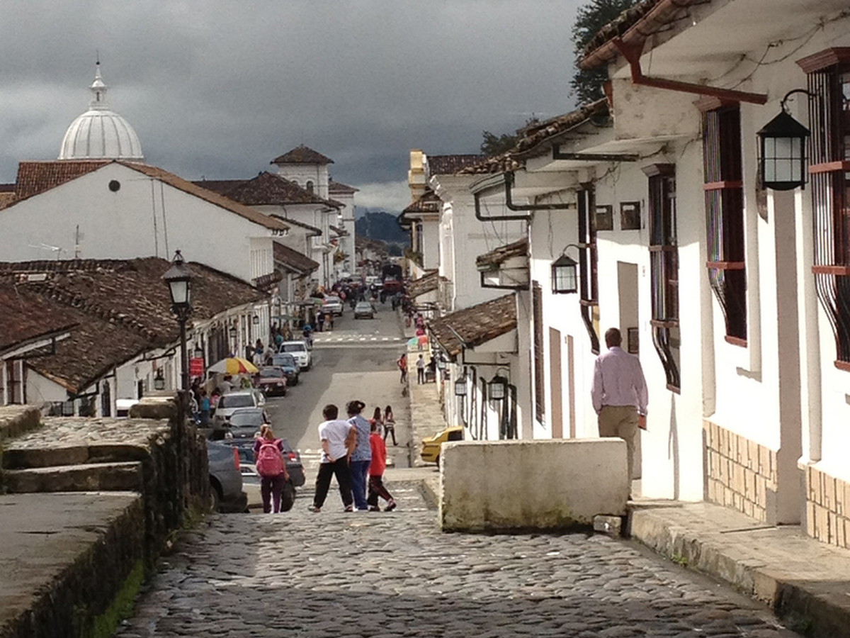 Popayan in Kolumbien