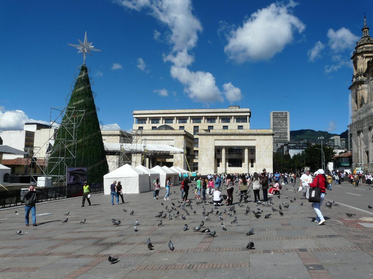 Bogotá, Plaza Bolivar