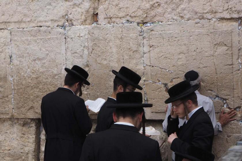 Jerusalem, Klagemauer, puriy