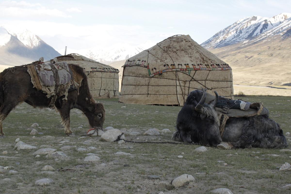 In den Höhenlagen von Tadschikistan