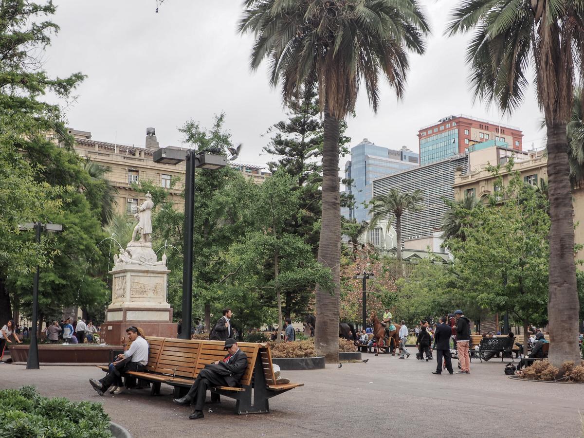 Santiago de Chile, Plaza de Armas