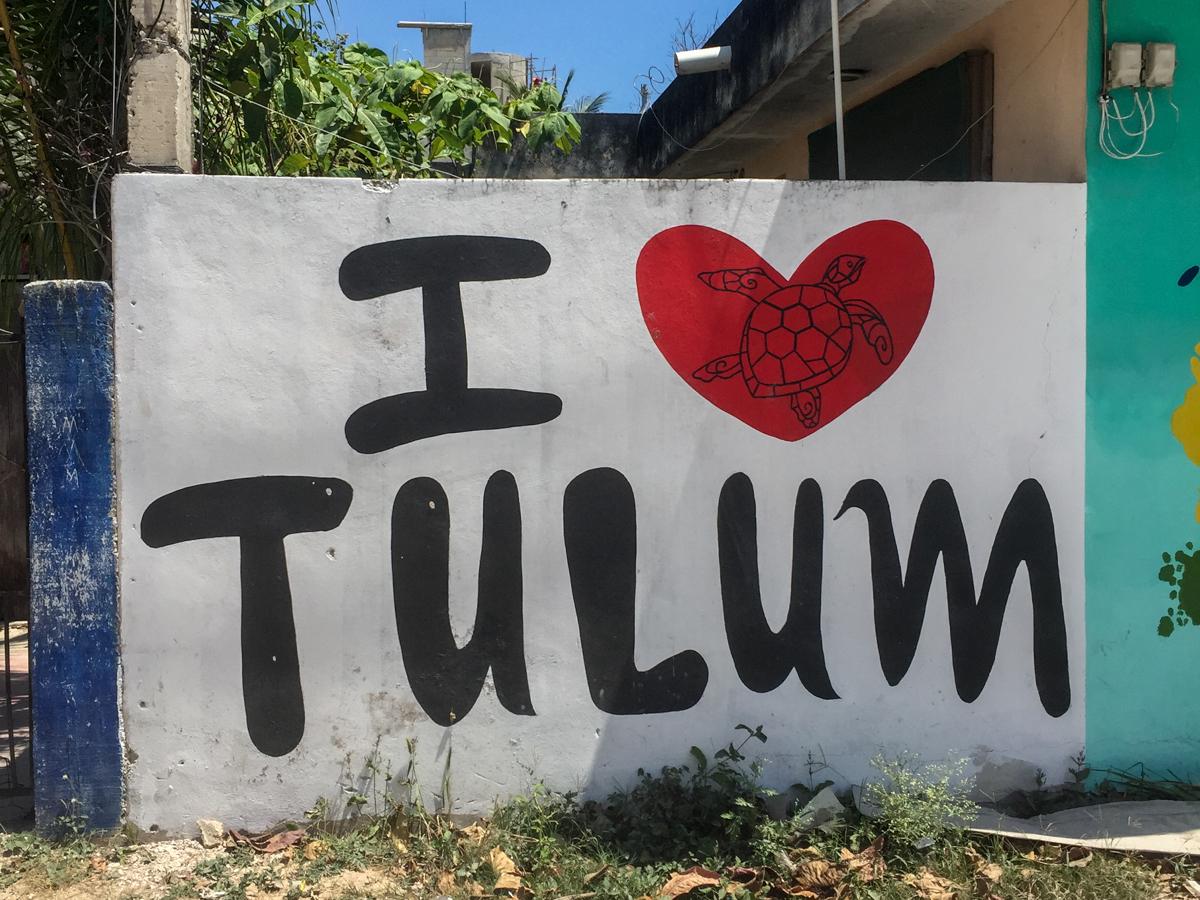 Mexiko, Tulum