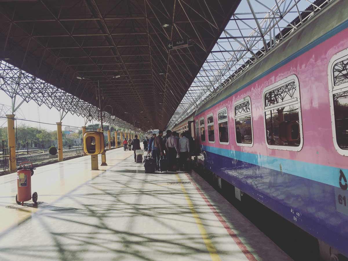 Iran-Bahn