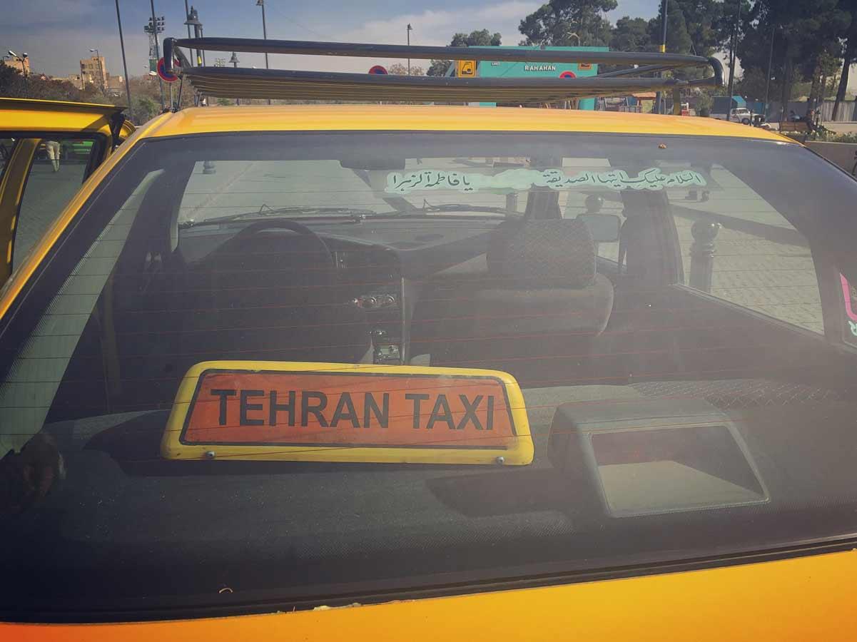 Iran-TehranTaxi