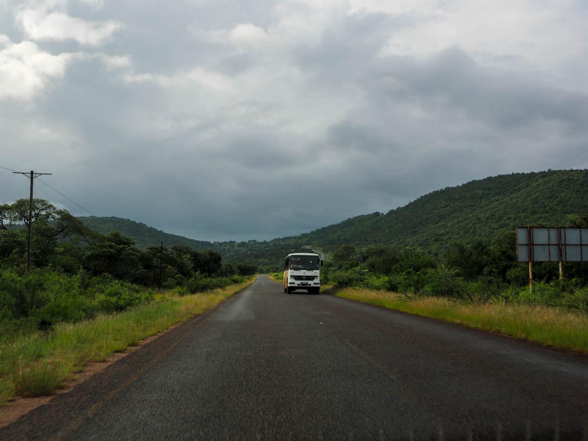 Grenze Südafrika und Swasiland