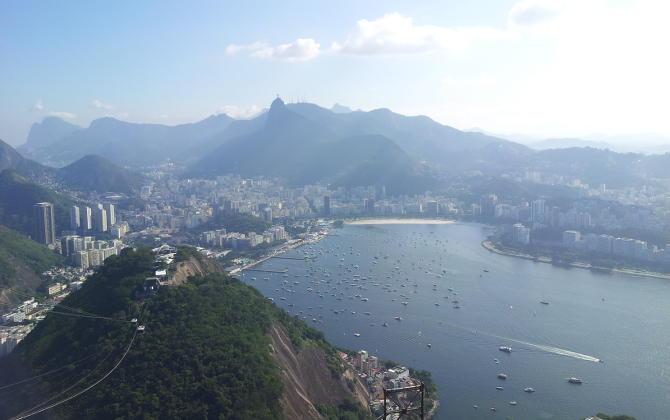 Blick auf Rio