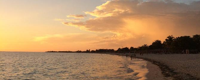 Playa Ancon am Abend