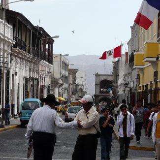 Straße in Arequipa