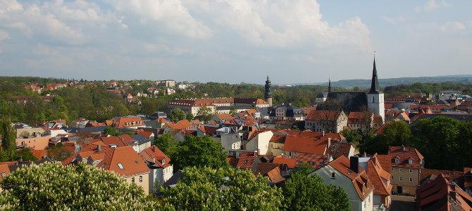 Ausblick auf Weimar