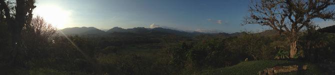 Ausblick von der Sunset von der Hacienda San Lucas