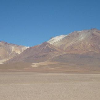 Landschaft beim Arbol de Piedra