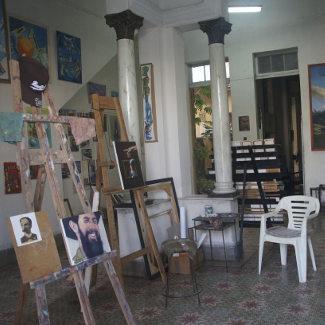 Atelier in Cienfuegos