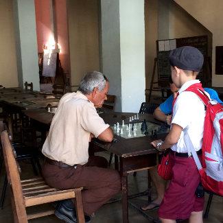 Schach in Cienfuegos