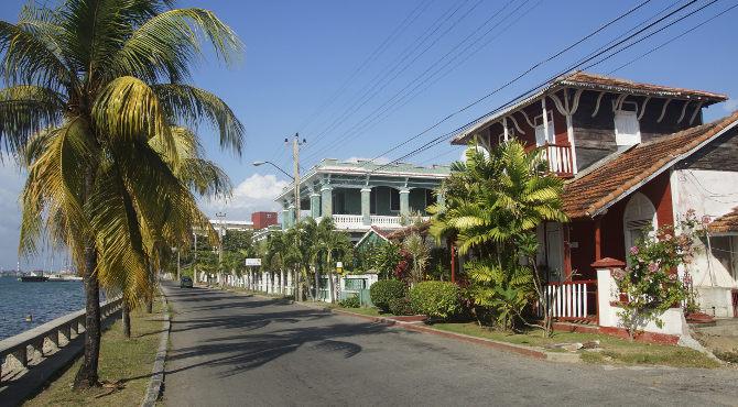 Villengegend in Punta Gorda