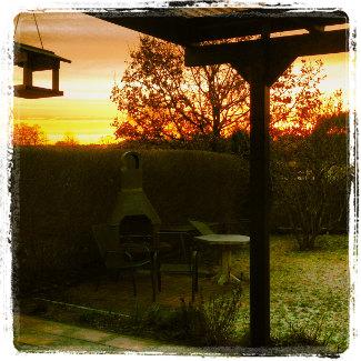 Letzter Sonnenaufgang 2013 im Müritz NP