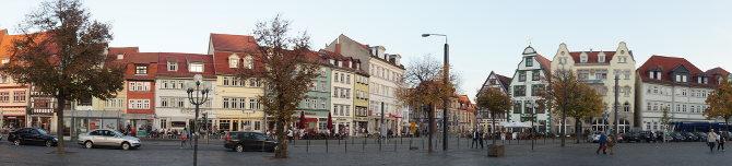 Städte wie Erfurt mauserten sich nach der Wende