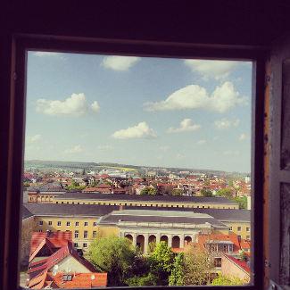 Ausblick vom Turm der Jakobskirche