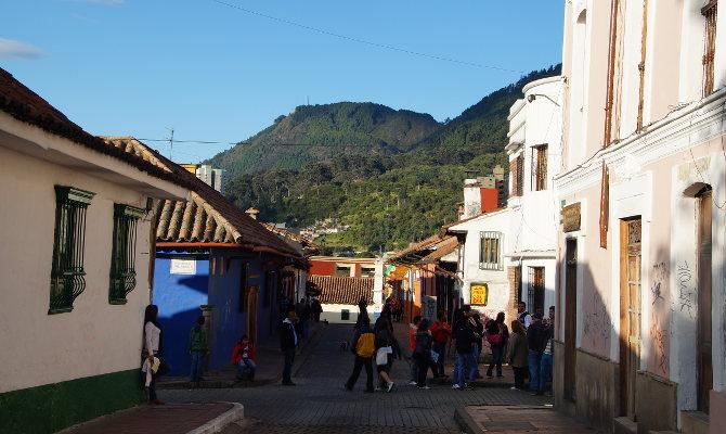In den Straßen der Candelaria