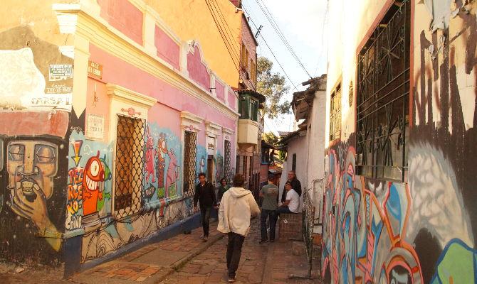 Bogota – die Stadt der Graffiti