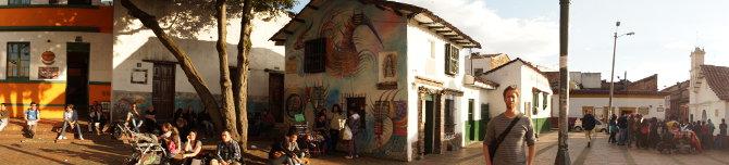 Mein Lieblingsplatz in Bogota: Chorro de Quevedo