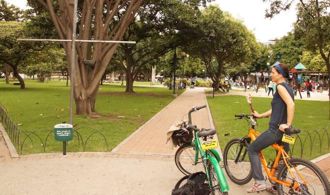 Ciclovia im Parque 93