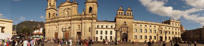 Plaza de Bolivar von Bogota