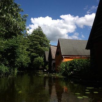 Bootshäuser in Blankenförde