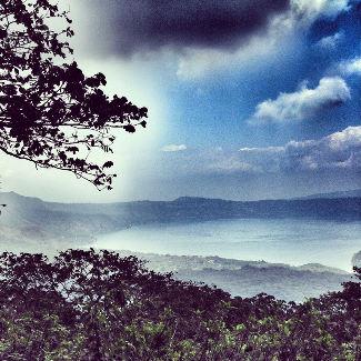 Auf dem Weg nach oben auf den Cerro Verde