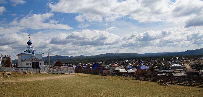 Dorfblick Chuschir