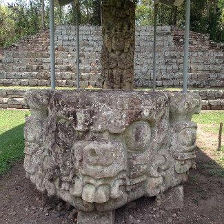 Filigrane Baukunst, Copan Honduras