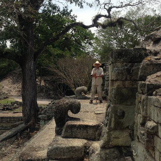 Unser Guide Antonio, Copan Honduras