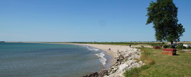 Am Strand von Durankulak