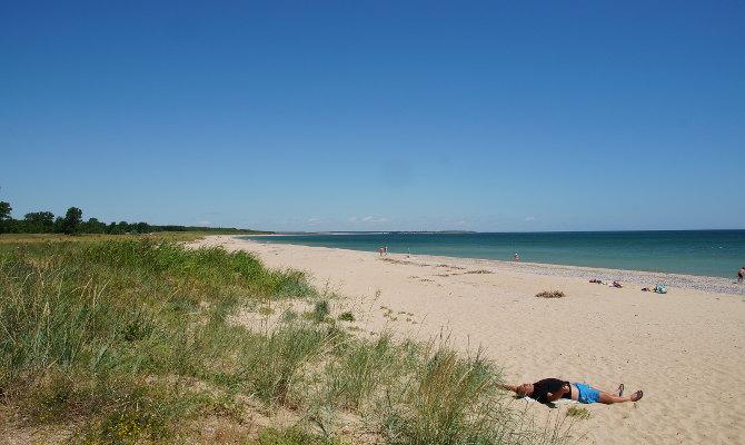 Leere am Strand von Durankulak