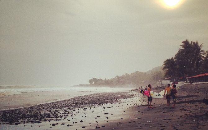 Pazifik in El Salvador