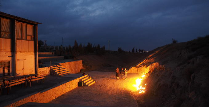 Der brennende Berg Yanardag