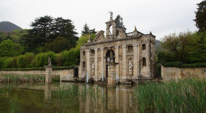 Privatgarten Valsanzibio der venetischen Villa Barbarigo