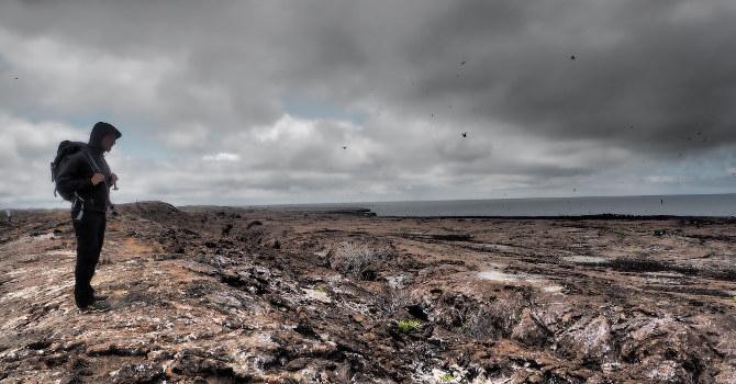 Unterwegs auf dem Vulkankegel