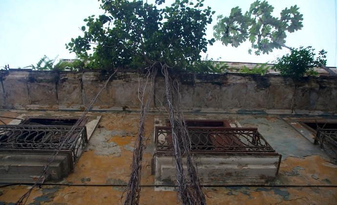 Typisches Haus in Havanna