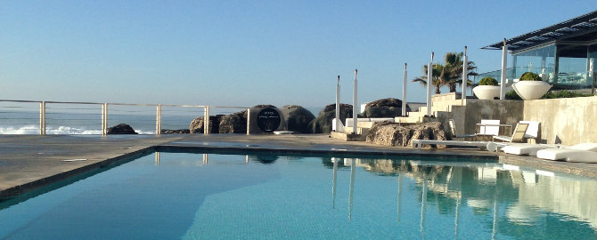 Farol: Atlantik, Pool. Terasse