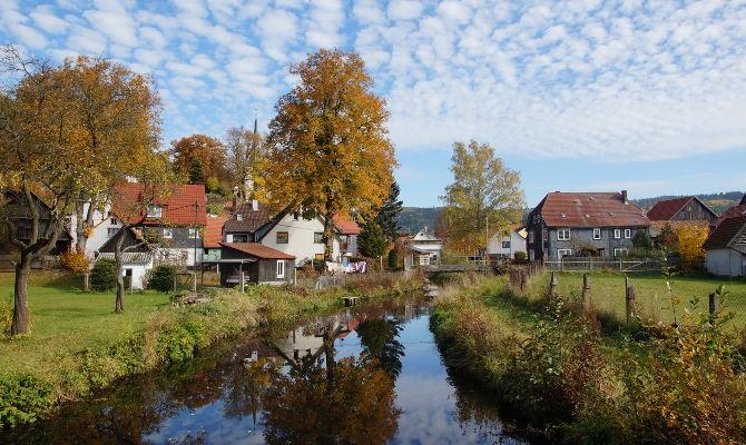 Mein Heimatdorf im Thüringer Wald