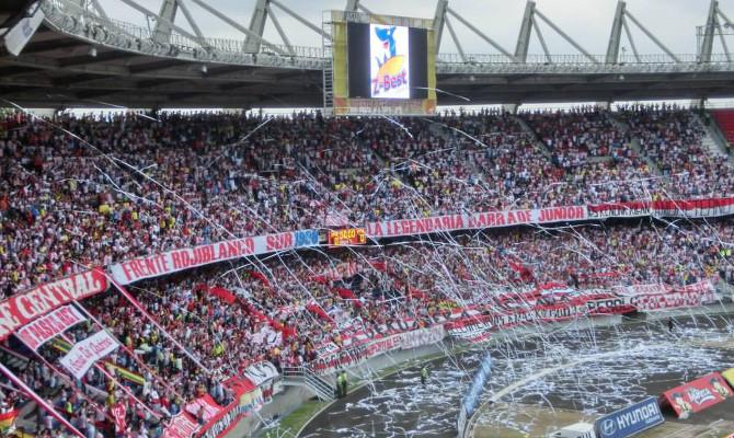 Im Estadio Metropolitano Roberto Meléndez, Barranquilla