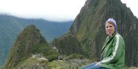 Anja in Peru