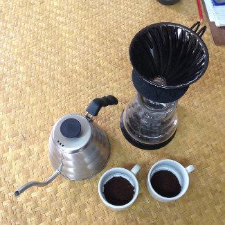 Am Ende gibt's einen Kaffee