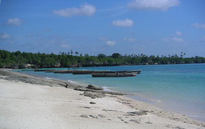 Indischer Ozean vor Sansibar